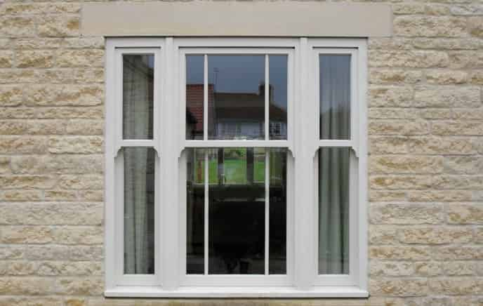 uPVC sliding sash windows fleet
