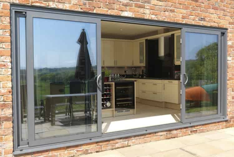 Aluminium patio doors fleet hamshire