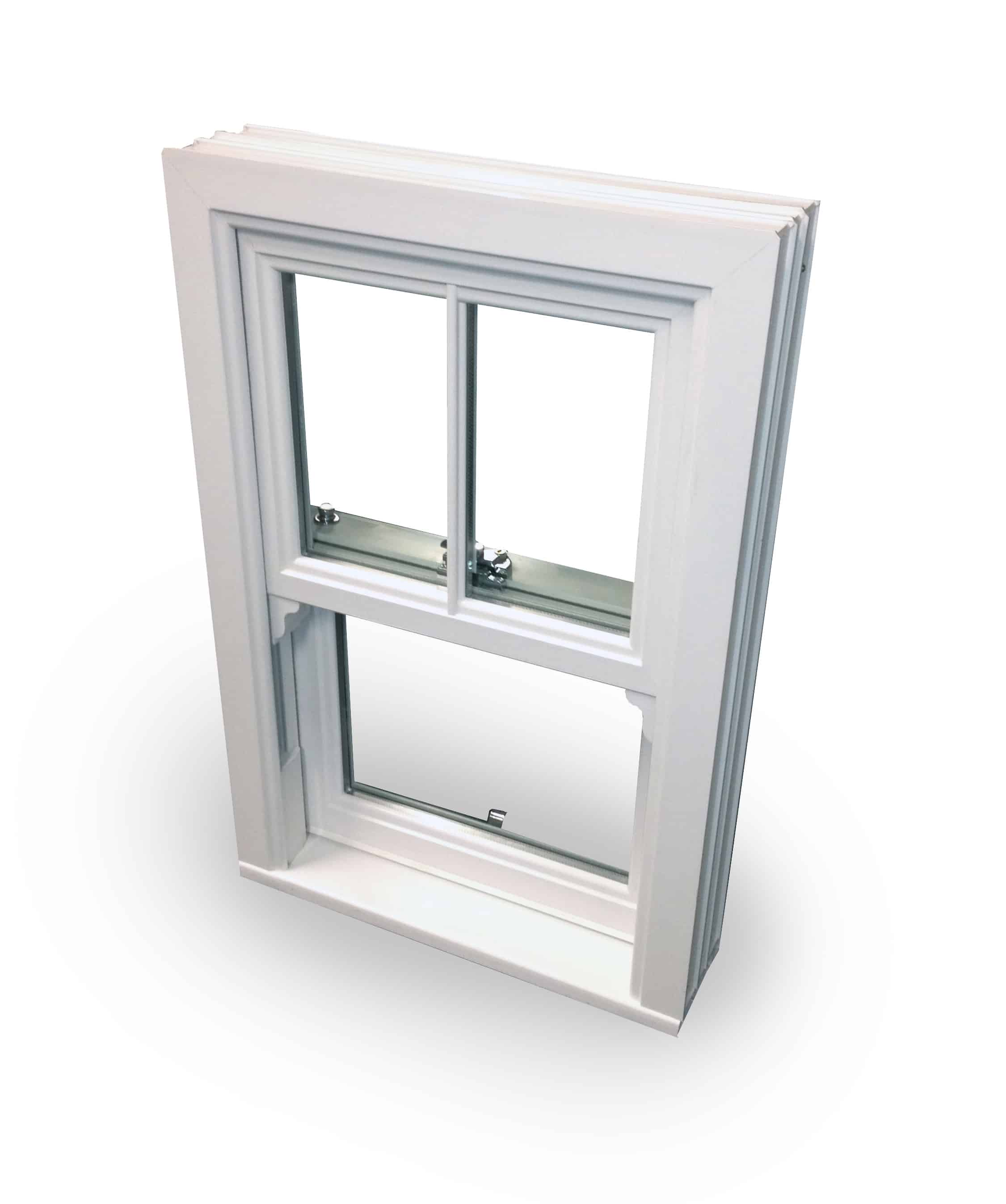 UPVC Vertical Sliding Sash Windows