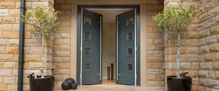 composite front doors fleet