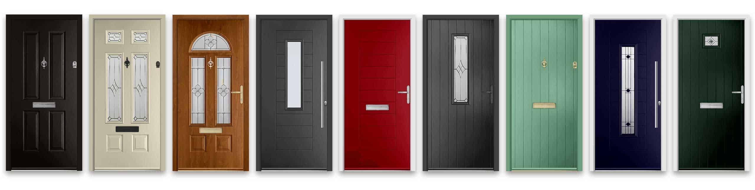 modern composite doors in Hampshire