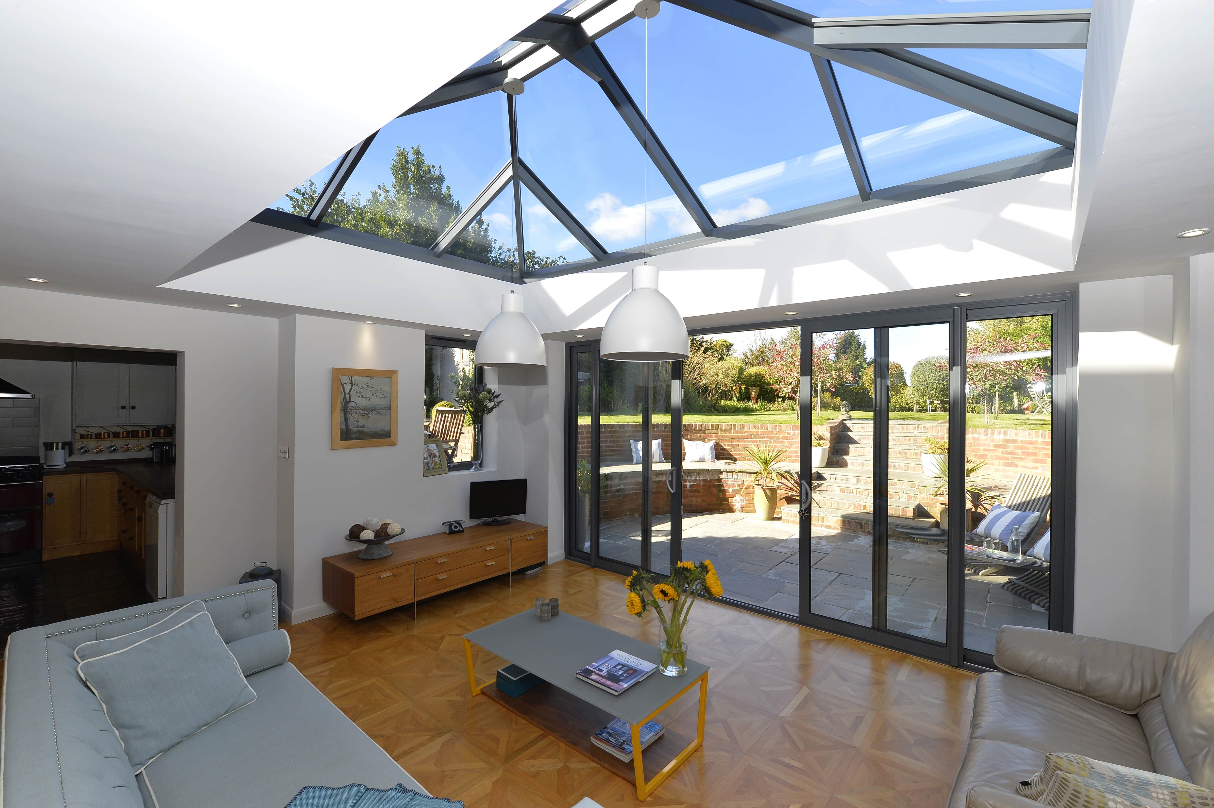 Glass conservatory Roof, Fleet