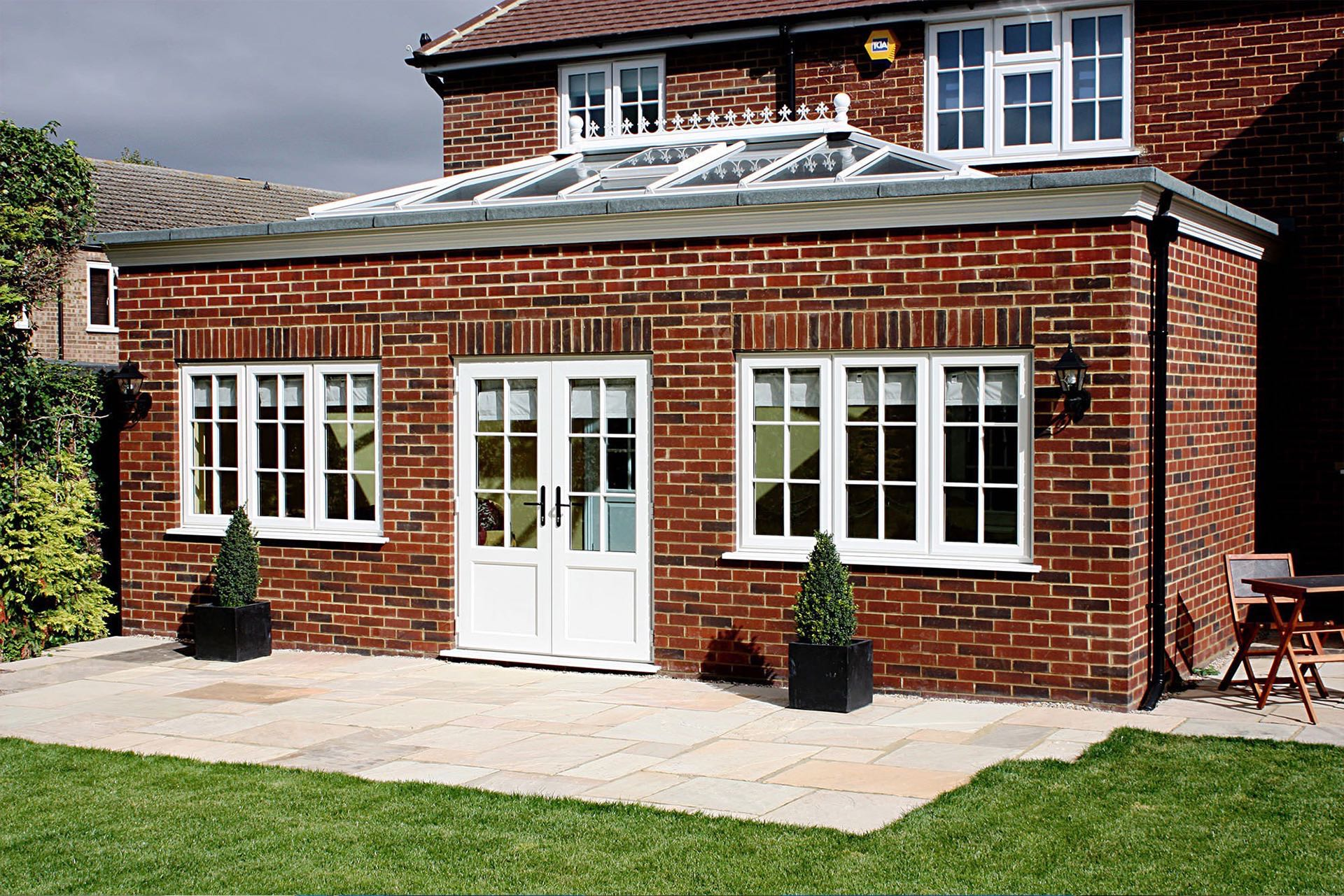 Brick Double Glazing Orangery Extension Fleet