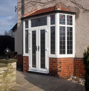 White uPVC French Door Fleet