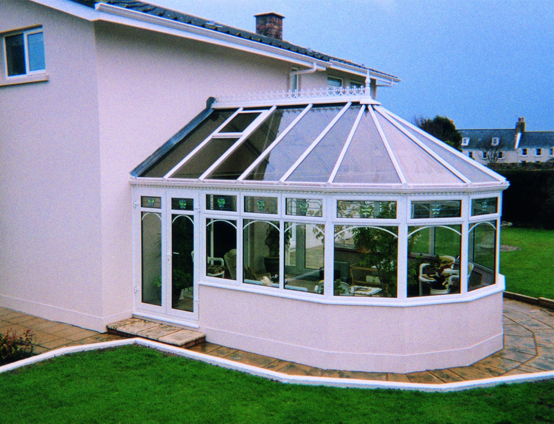 Double glazed conservatory roof , Fleet Hampshire