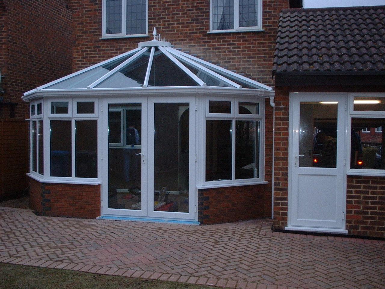 Glass Conservatory Roof, Fleet