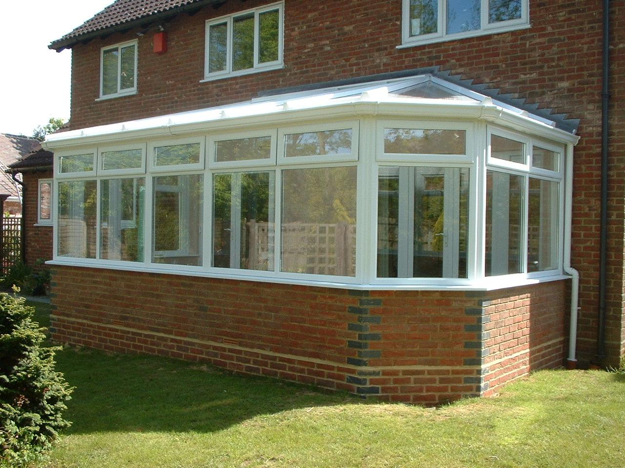 Conservatory roof, Fleet Hampshire