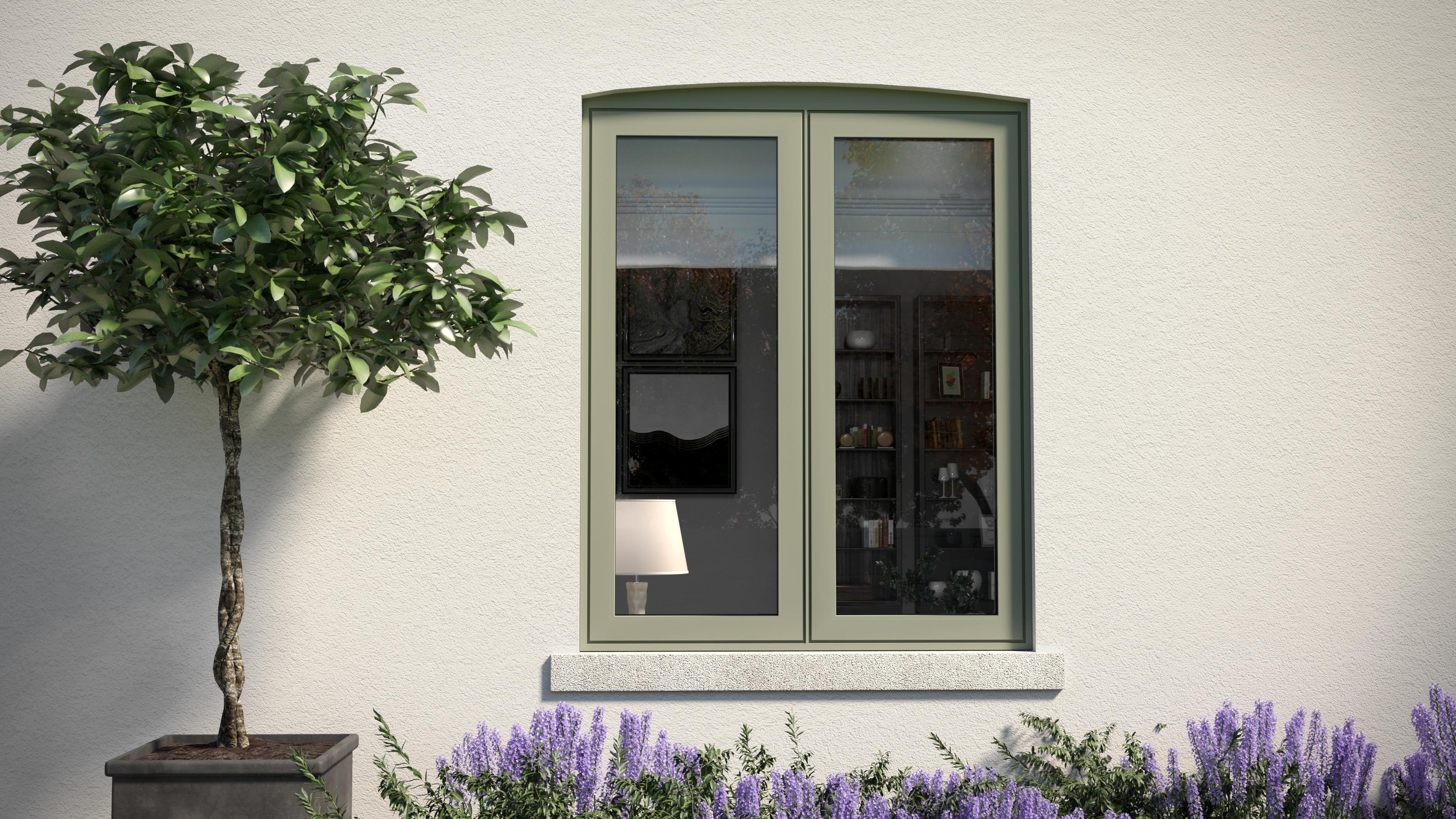Aluminium Double Glazed Windows, Farnham